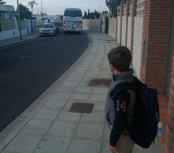transporte escolar Retamar