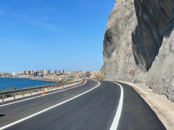 Carretera abierta El Cañarete