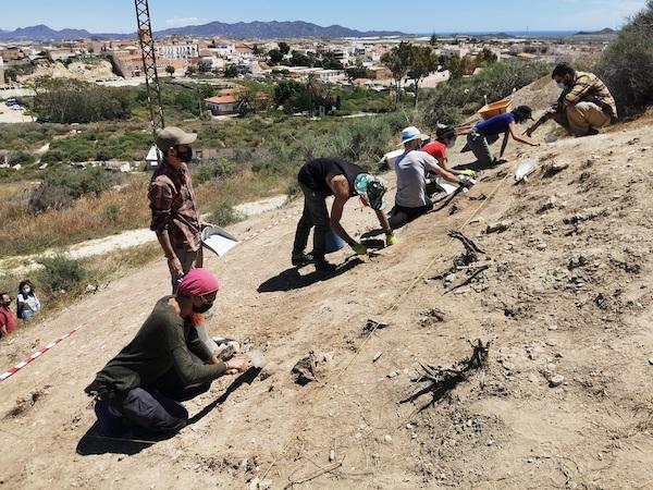 Se trata de las primeras excavaciones en el Cerro del Espíritu Santo