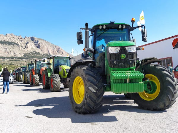 tractorada Almeria