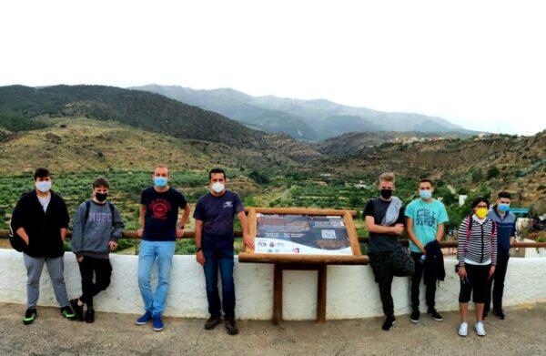 Mirador de San Antón donde se ubican las exposiciones de ArteSOSlidario