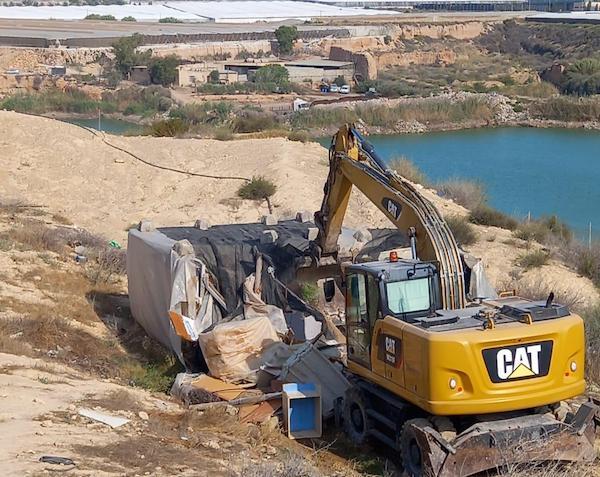 Demolición Chabolas