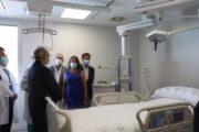 Inaugurada la primera fase de la UCI del Hospital de Poniente