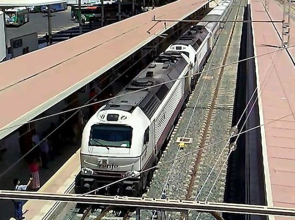 Tren en Intermodal