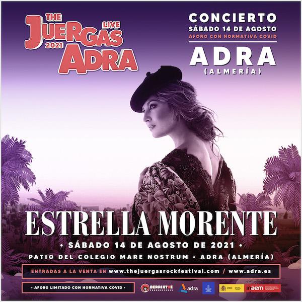 Estrella Morente - The Juergas Live Adra 2021 - 14 agosto