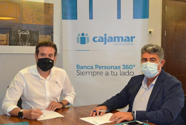 Firma convenio Ecogestiona y Cajamar