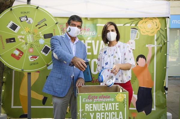 Margarita campaña reciclaje Ecolec