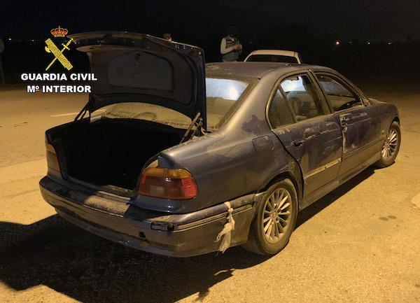 Detenidos tres hombres especializados en el robo de gasolineras en el Levante
