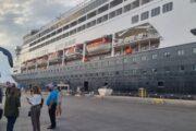 El crucero Vasco da Gama hace escala en Almería