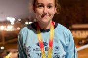Laura Zarauz, doble medallista en el Campeonato de España sub14 de atletismo