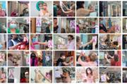 El comercio local del centro se solidariza con el día contra el cáncer de mama.