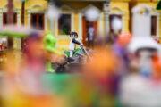 Una exposición de mil Playmobil representan Halloween en el CIP hasta el 7 de noviembre